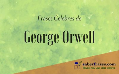 George Orwell frases célebres.