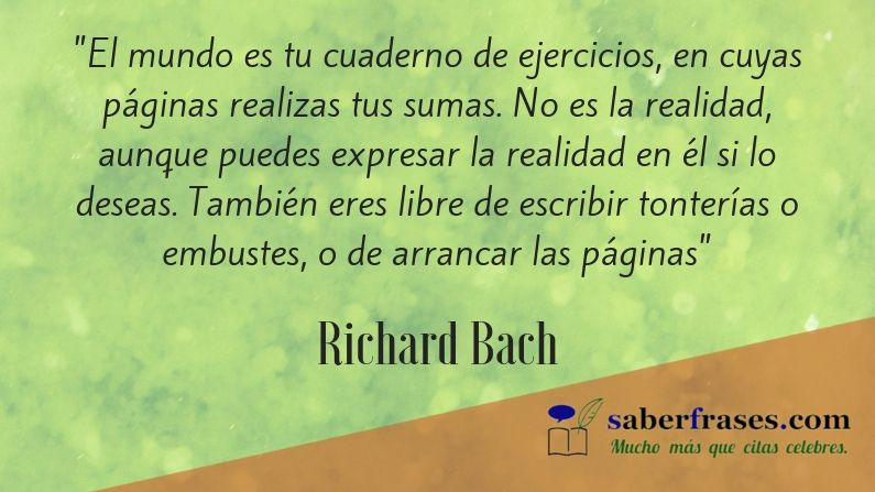 Las 40 𝐌𝐞𝐣𝐨𝐫𝐞𝐬 𝐅𝐫𝐚𝐬𝐞𝐬 De Richard Bach2019