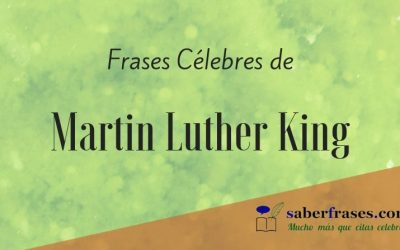 Las 115 mejores frases de Martin Luther King